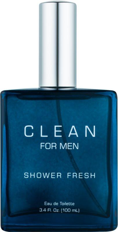 CLEAN Clean For Men Shower Fresh eau de toilette para homens 100 ml