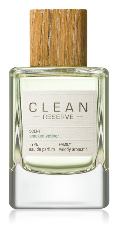CLEAN Reserve Collection Smoked Vetiver parfumovaná voda unisex 100 ml
