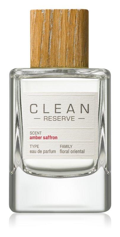 CLEAN Reserve Collection Amber Saffron eau de parfum mixte 100 ml