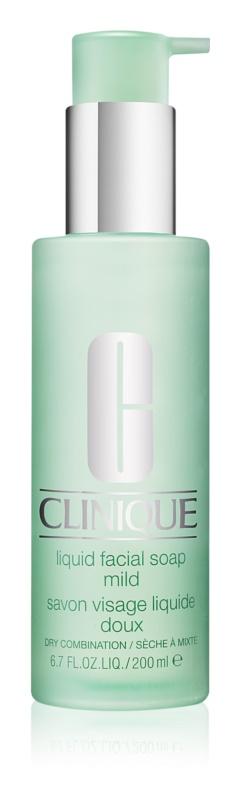 Clinique 3 Steps течен сапун за суха и смесена кожа