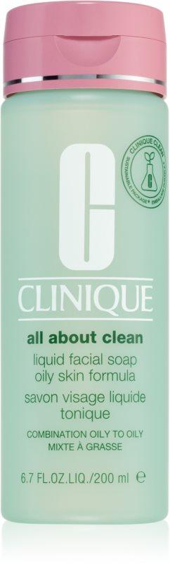 Clinique 3 Steps tekuté mýdlo pro mastnou a smíšenou pleť