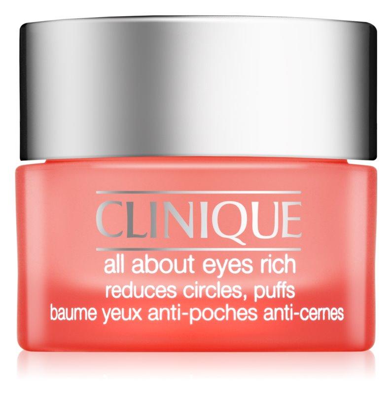 Clinique All About Eyes Rich nawilżający krem pod oczy przeciw obrzękom i cieniom
