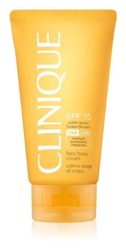 Clinique Sun crema pentru bronzat SPF15