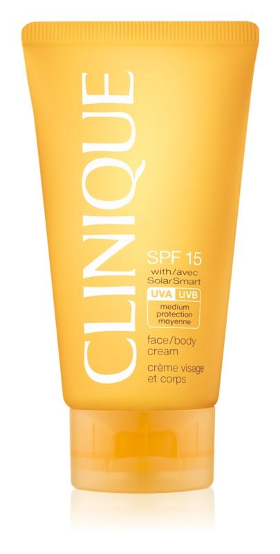 Clinique Sun crème solaire SPF15