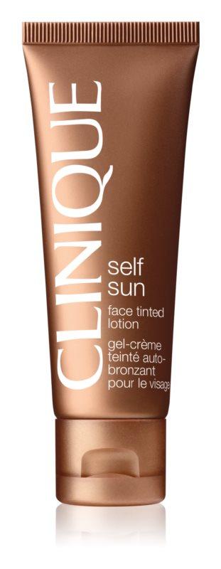 Clinique Self Sun crème auto-bronzante visage