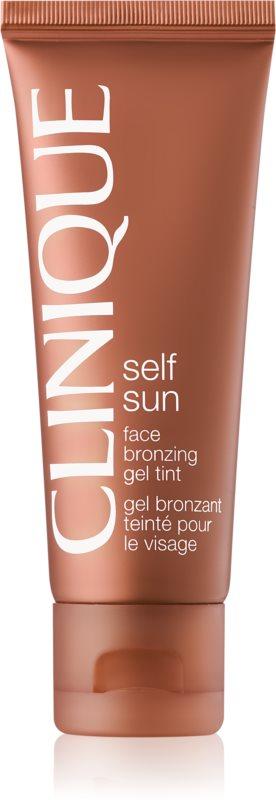 Clinique Self Sun Bronzer-Gel für das Gesicht