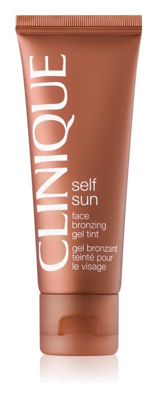 Clinique Self Sun bronzující gel na obličej