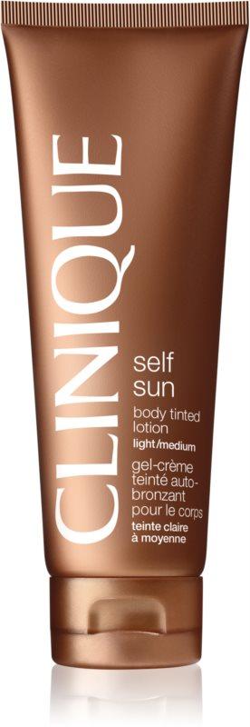 Clinique Self Sun lait corporel auto-bronzant