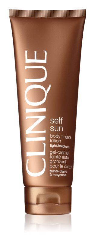 Clinique Self Sun молочко автозасмага для тіла