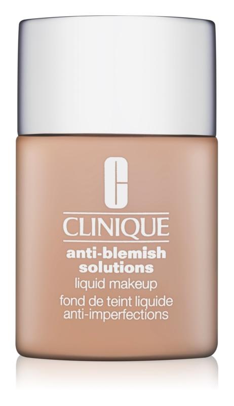 Clinique Anti-Blemish Solutions base líquida para pele problemática, acne