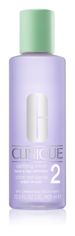 Clinique 3 Steps Tonic  voor Droge en Gemengde Huid