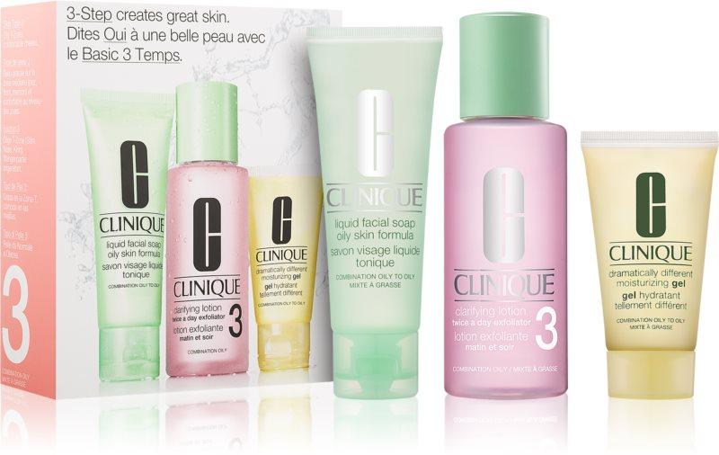 Clinique 3 Steps coffret cosmétique VII.