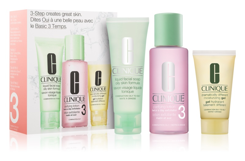 Clinique 3 Steps Cosmetic Set VII.