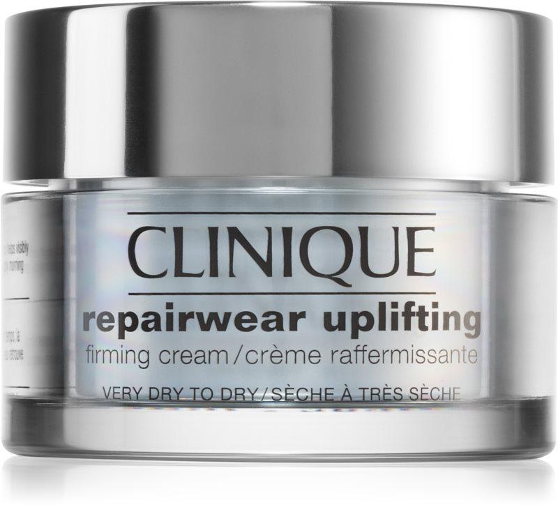 Clinique Repairwear Uplifting krema za učvrstitev obraza za suho do zelo suho kožo