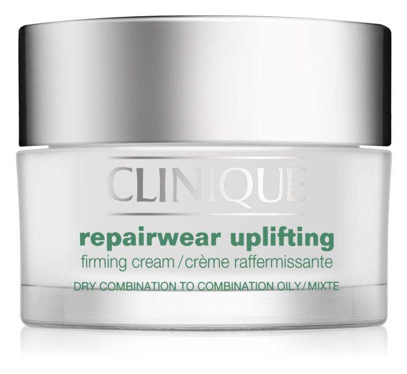 Clinique Repairwear Uplifting krema za učvrstitev obraza za suho in mešano kožo