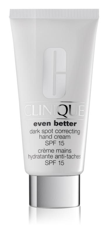 Clinique Even Better crema de manos contra problemas de pigmentación