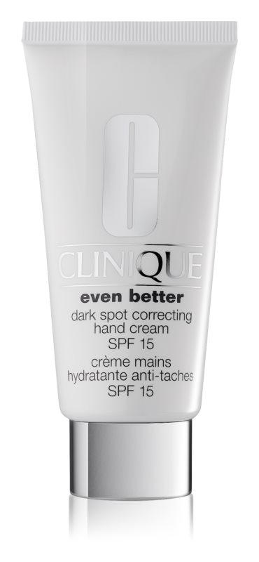 Clinique Even Better kézkrém a pigment foltok ellen