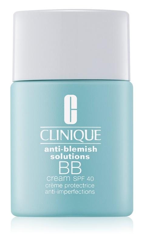 Clinique Anti-Blemish Solutions BB krema proti nepravilnostim na koži SPF 40