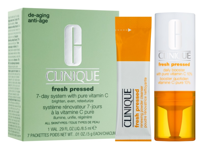 Clinique Fresh Pressed козметичен пакет  I.