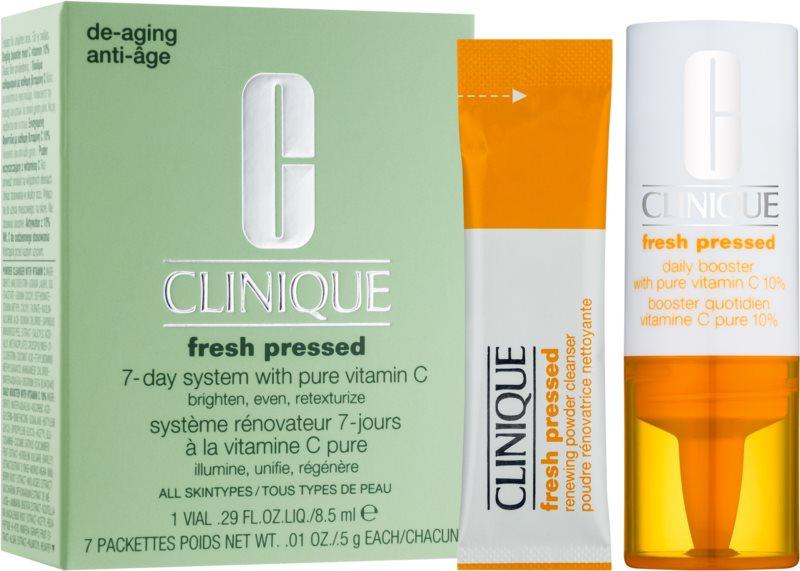 Clinique Fresh Pressed kosmetická sada I.