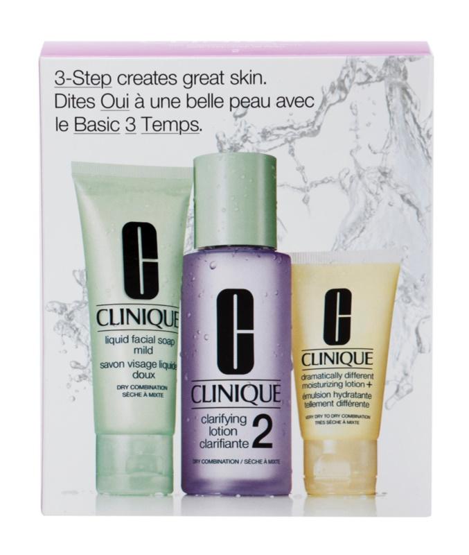 Clinique 3 Steps Kosmetik-Set  VI.
