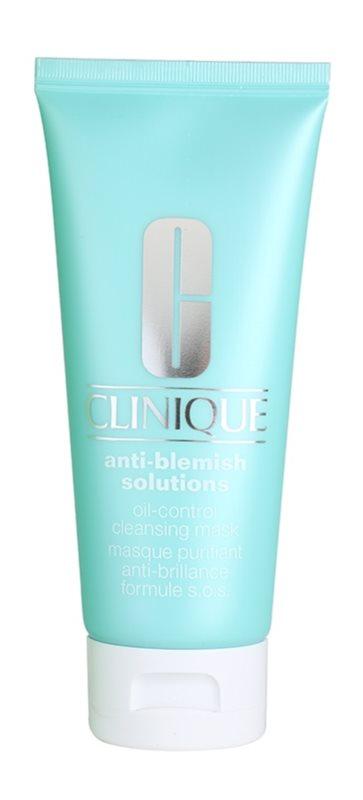 Clinique Anti-Blemish Solutions čistiaca maska pre mastnú a zmiešanú pleť