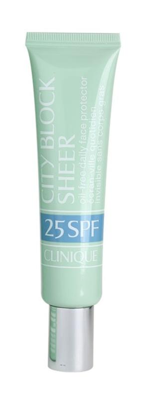 Clinique City Block Sheer Protective Face Cream SPF 25