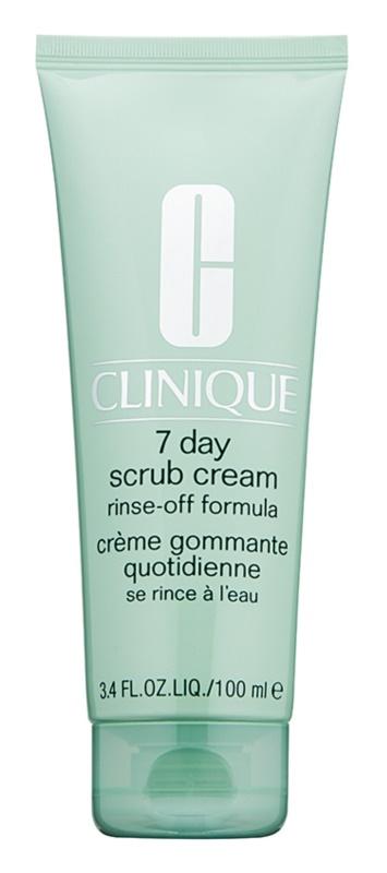 Clinique 7 Day Scrub Cream peeling oczyszczający  do codziennego użytku