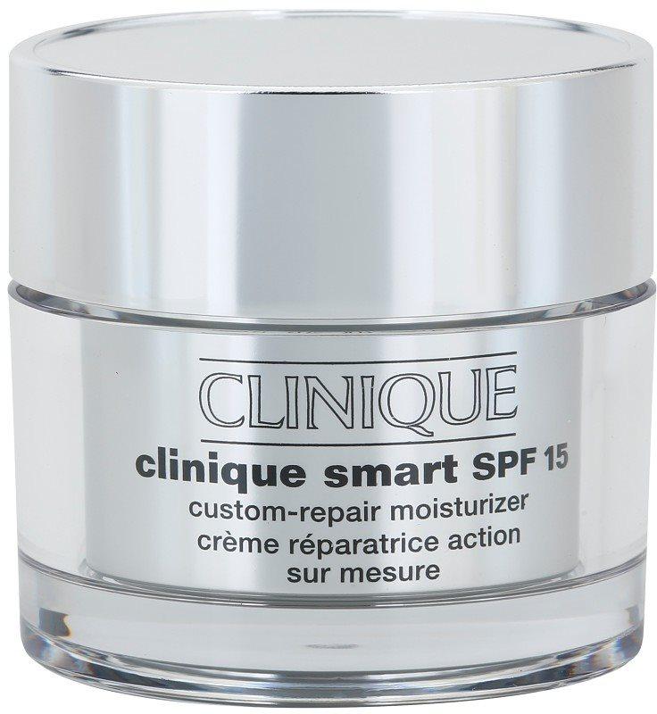 Clinique Clinique Smart feuchtigkeitsspendende Tagescreme gegen Falten für trockene bis sehr trockene Haut LSF 15