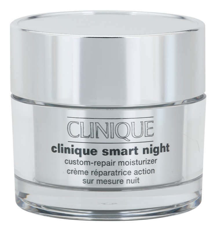 Clinique Clinique Smart crema de noche hidratante antiarrugas para pieles secas y mixtas