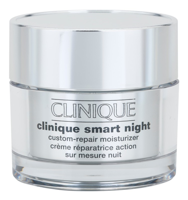 Clinique Smart feuchtigkeitsspendende Nachtcreme gegen Falten für gemischte und fettige Haut