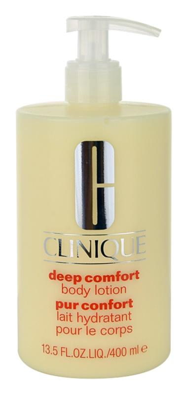 Clinique Deep Comfort hloubkově hydratační tělové mléko