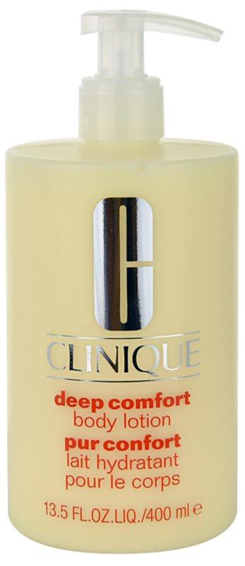 Clinique Deep Comfort leite corporal hidratação profunda