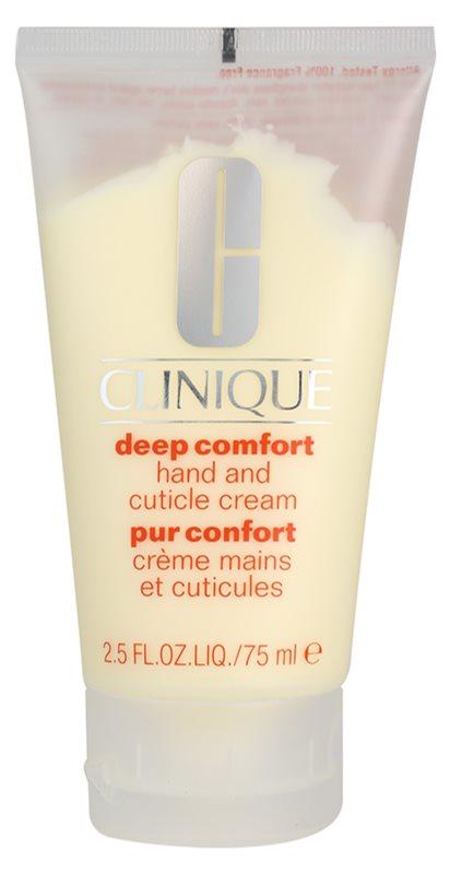 Clinique Deep Comfort hloubkově hydratační krém na ruce, nehty a nehtovou kůžičku