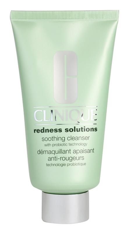 Clinique Redness Solutions tisztító gél az érzékeny arcbőrre