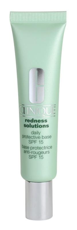 Clinique Redness Solutions védő és nyugtató krém a bőr kipirosodásának megszüntetéséért
