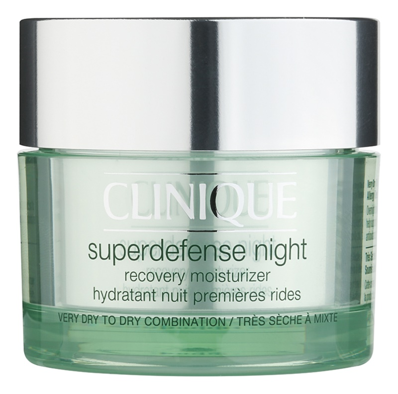 Clinique Superdefense Moisturizing Night Cream Against The First Signs of Skin Aging
