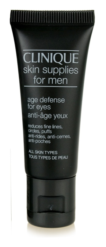 Clinique For Men krema za predel okoli oči proti gubam, zabuhlosti in temnim kolobarjem