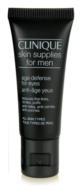 Clinique For Men očný krém proti vráskam, opuchom a tmavým kruhom