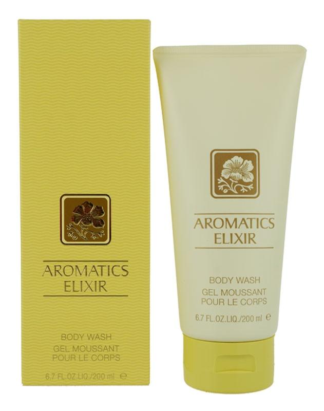 Clinique Aromatics Elixir gel de dus pentru femei 200 ml