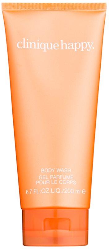Clinique Happy gel doccia per donna 200 ml