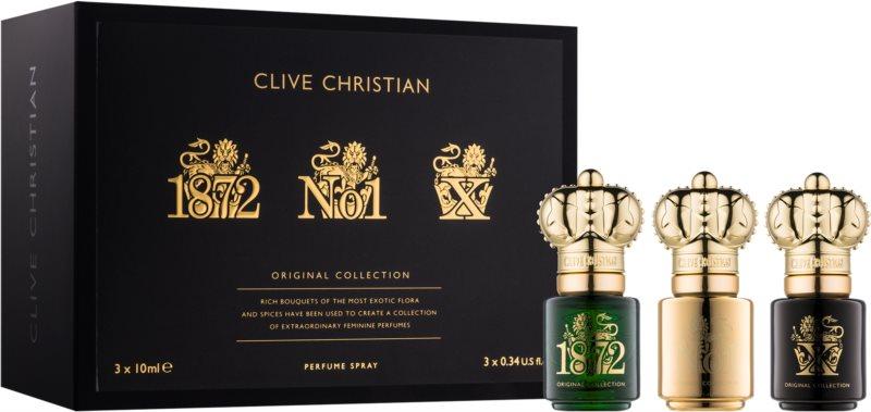 Clive Christian Traveller SET confezione regalo II 1872, No1, X