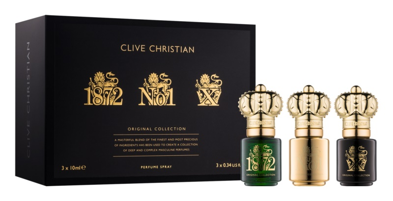 Clive Christian Traveller SET coffret cadeau III. 1872, No1, X