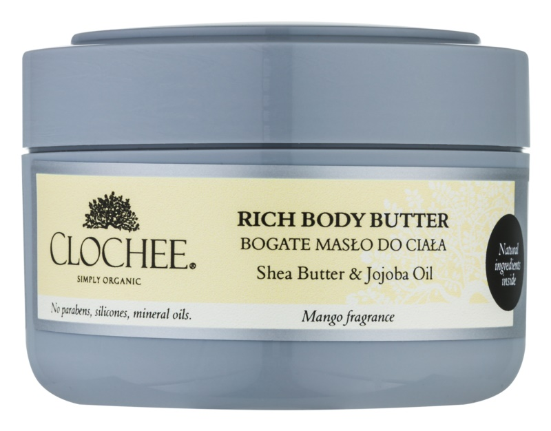 Clochee Simply Organic nährende Body-Butter