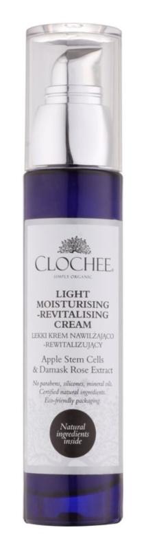 Clochee Simply Organic crema hidratante ligera con efecto revitalizante