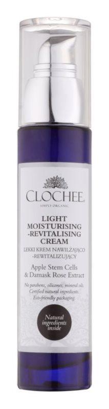 Clochee Simply Organic ľahký hydratačný krém s revitalizačným účinkom