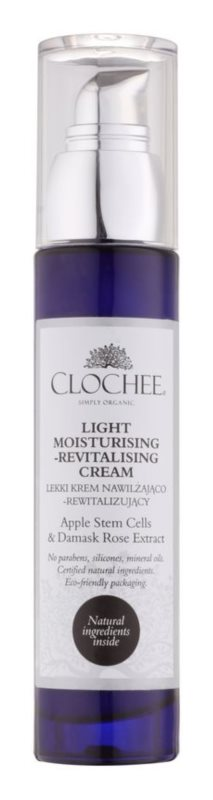 Clochee Simply Organic lehký hydratační krém s revitalizačním účinkem