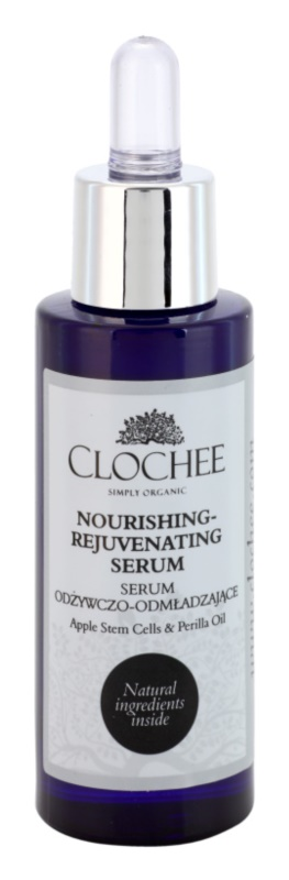 Clochee Simply Organic sérum nutritivo  com efeito rejuvenescedor