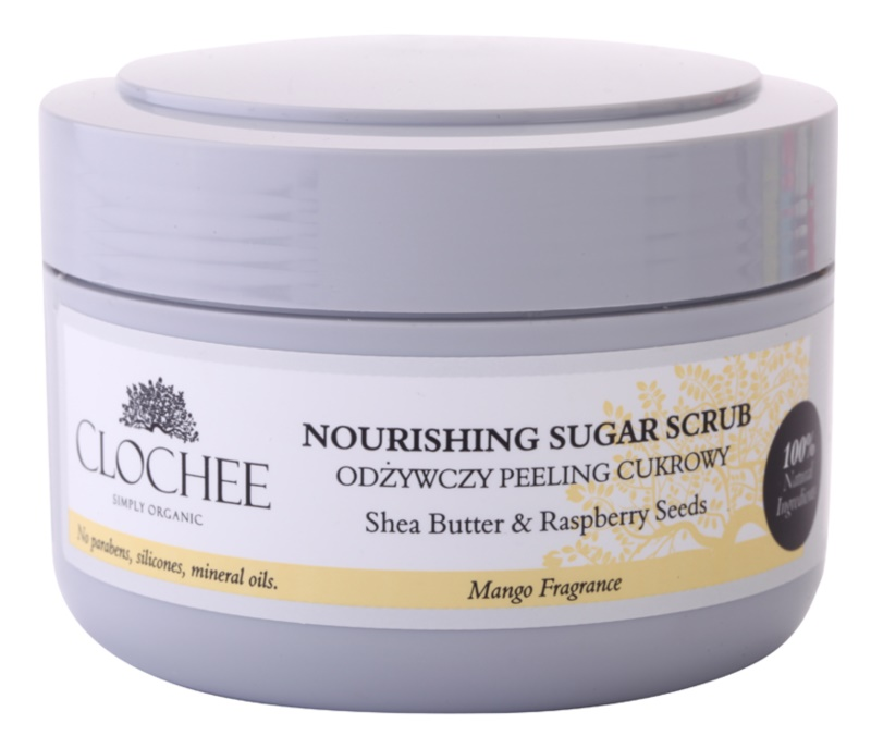 Clochee Simply Organic Sugar Scrub For Body
