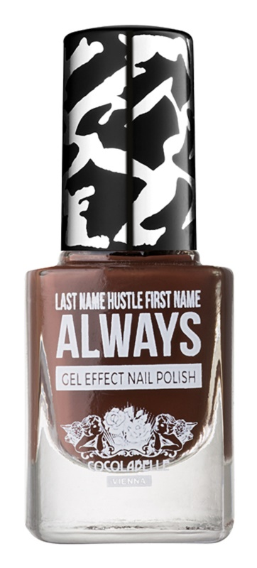 Cocolabelle Gel-Tastic Last Name Hustle First Name Always Nagellak met gel effect